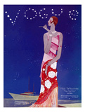 Vogue Cover - July 1926 - Flapper Nights Reproduction d'art par Eduardo Garcia Benito