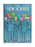 The New Yorker Cover - March 14  1977