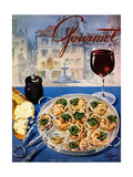 Gourmet Cover - April 1949