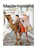 Mademoiselle Cover - April 1958