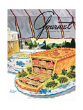 Gourmet Cover - July 1950
