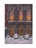 The New Yorker Cover - January 21  1956