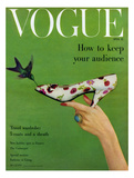 Vogue Cover - April 1957