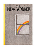 The New Yorker Cover - April 18  1977