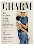 Charm Cover - April 1955