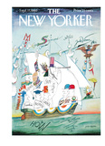 The New Yorker Cover - September 17  1960