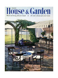 House & Garden Cover - March 1954