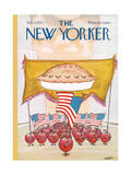 The New Yorker Cover - July 7  1975