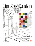 House & Garden Cover - April 1945