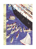 The New Yorker Cover - February 6  1937