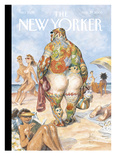 The New Yorker Cover - August 29  2005