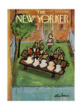 The New Yorker Cover - August 23  1958