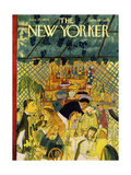 The New Yorker Cover - June 26  1954