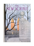 The New Yorker Cover - November 15  1976