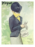 Vogue Cover - February 1936