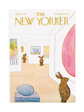 The New Yorker Cover - April 1  1972