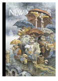 The New Yorker Cover - November 21  2005