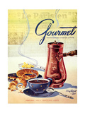 Gourmet Cover - February 1950