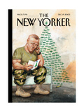 The New Yorker Cover - December 19  2005