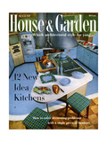 House & Garden Cover - August 1958