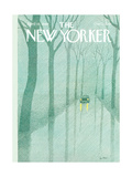 The New Yorker Cover - April 14  1980