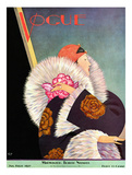 Vogue Cover - January 1927 Giclee par George Wolfe Plank