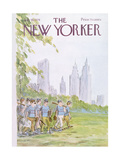 The New Yorker Cover - July 19  1976