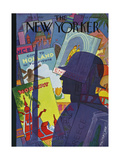 The New Yorker Cover - August 9  1941