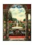 House & Garden Cover - October 1915