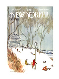 The New Yorker Cover - January 27  1968