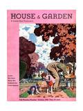 House & Garden Cover - October 1932