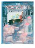 The New Yorker Cover - January 20  1986