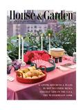 House & Garden Cover - August 1953