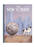 The New Yorker Cover - March 22  1993
