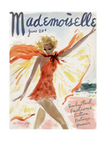 Mademoiselle Cover - June 1936 Reproduction d'art par Helen Jameson Hall