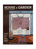 House & Garden Cover - April 1932