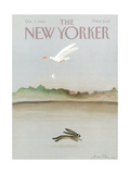 The New Yorker Cover - October 7  1985