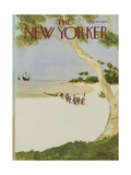 The New Yorker Cover - October 13  1975