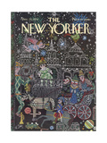 The New Yorker Cover - December 23  1974