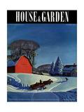 House & Garden Cover - December 1937