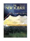 The New Yorker Cover - July 25  1970