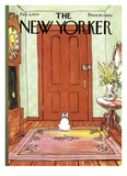 The New Yorker Cover - February 4  1974