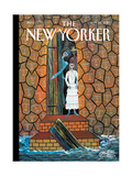 The New Yorker Cover - January 25  2010