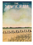 The New Yorker Cover - June 6  1970