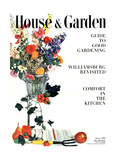 House & Garden Cover - January 1950