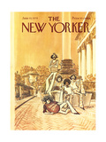 The New Yorker Cover - June 10  1974