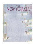 The New Yorker Cover - April 7  1986