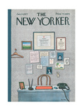 The New Yorker Cover - January 24  1977