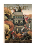 The New Yorker Cover - October 12  1946