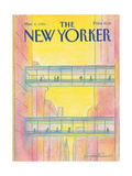 The New Yorker Cover - March 4  1985